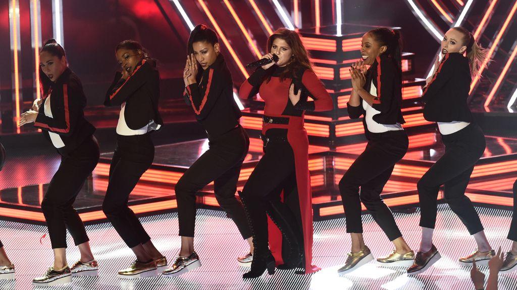 Megan Trainor en los IHearRadio Music Awards