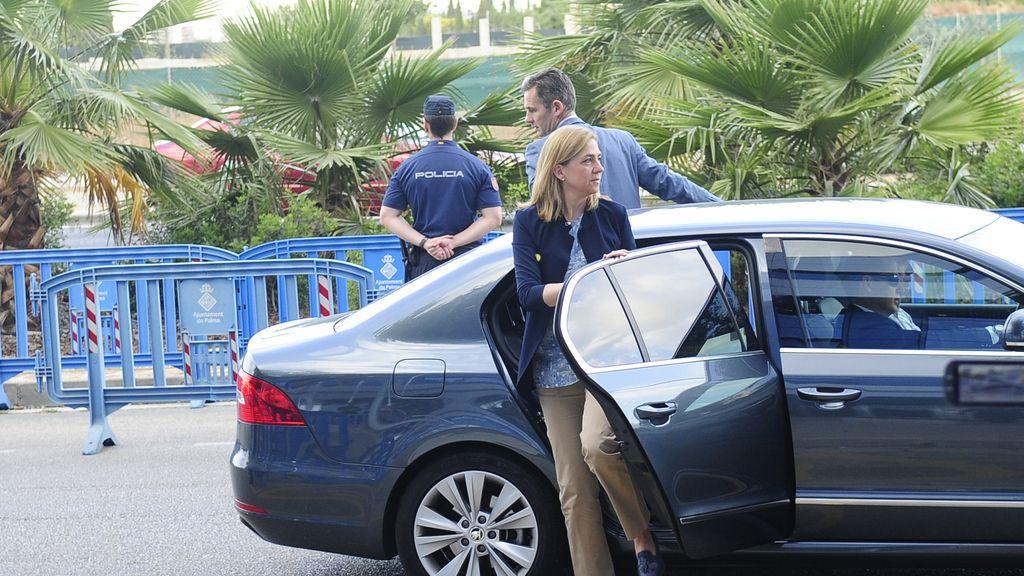 La Infanta y Urdangarin, de nuevo en los juzgados