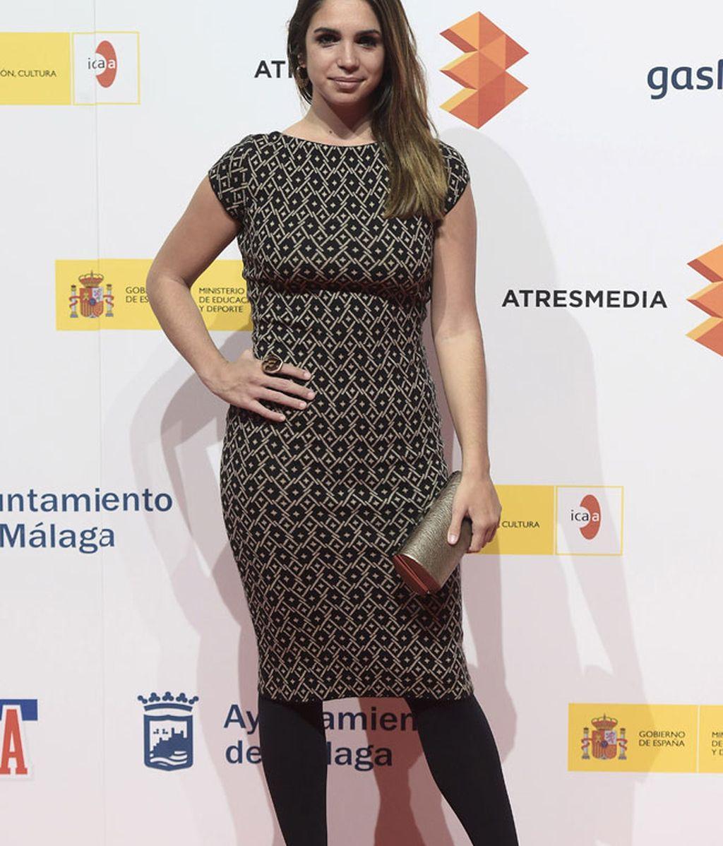 Elena Furiase, durante la presentación del Festival de Cine de Málaga