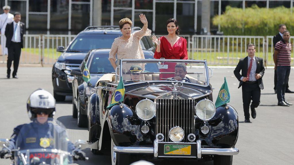 Toma de posesión de Dilma Rousseff