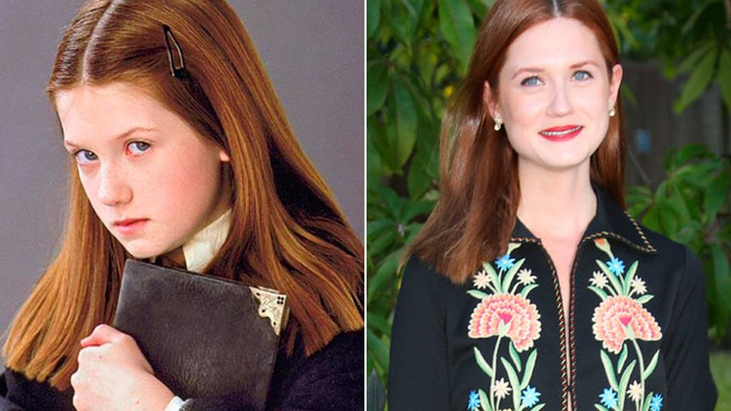 Bonnie Wright, la hermanita de Ron que volvía loco a Harry Potter