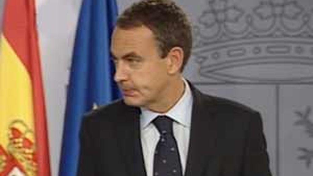 El presidente del Gobierno durante la comparecencia en la que ha presentado las nuevas medidas.