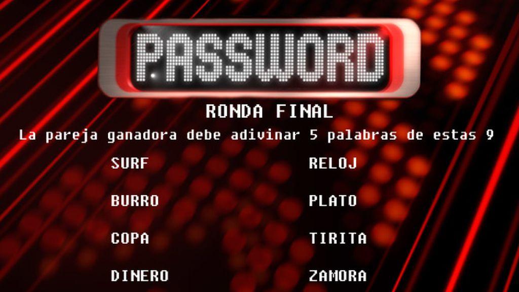 Juego de Password 1