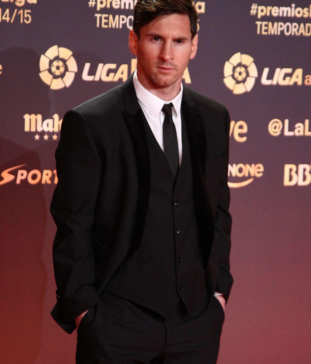 Leo Messi dedicó el premio a su hijo Thiago