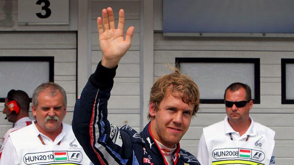 Cuarta 'pole' consecutiva para Vettel