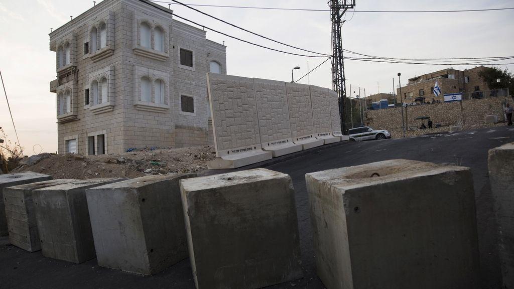 Israel empieza a construir un muro en Jerusalén Este