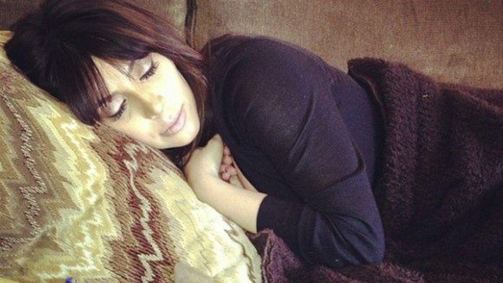 Kim Kardashian después de dar a luz