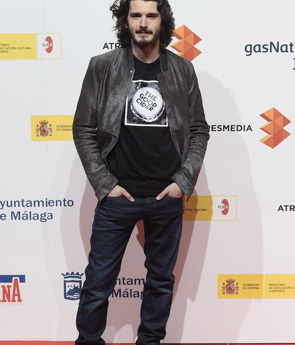 Yon González acudió junto a su hermano, Aitor Luna