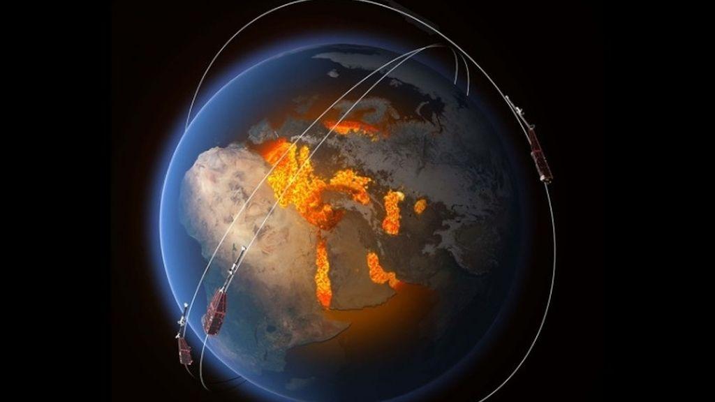 campo magnético de la Tierra,polos magnéticos,Tierra,