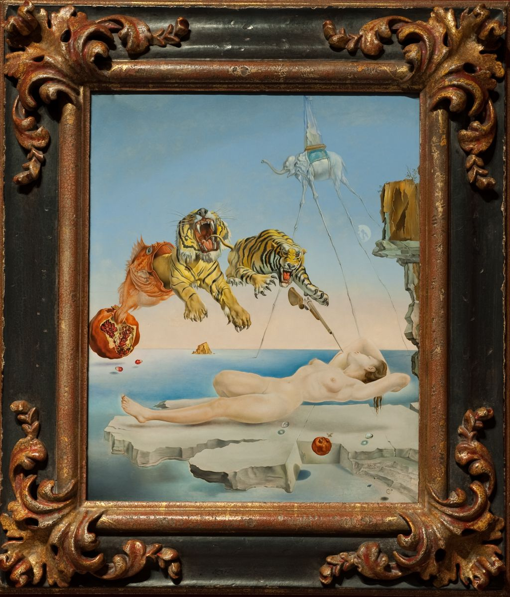 Cuadro de Dalí, 'Lágrimas de Eros'