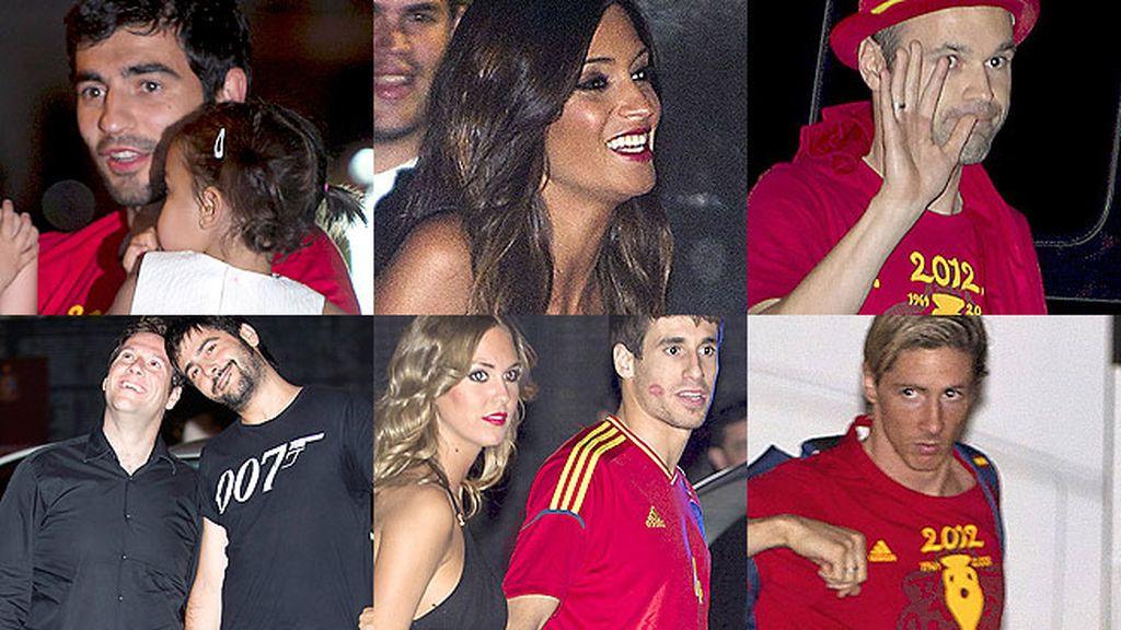 La gran fiesta de la Selección española