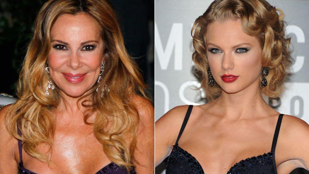 Taylor Swift y Ana Obregón