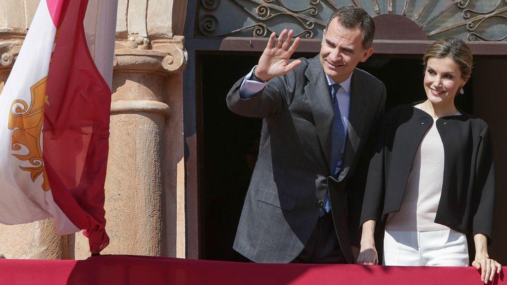Felipe VI y la reina Leticia visitan la tierra de Don Quijote