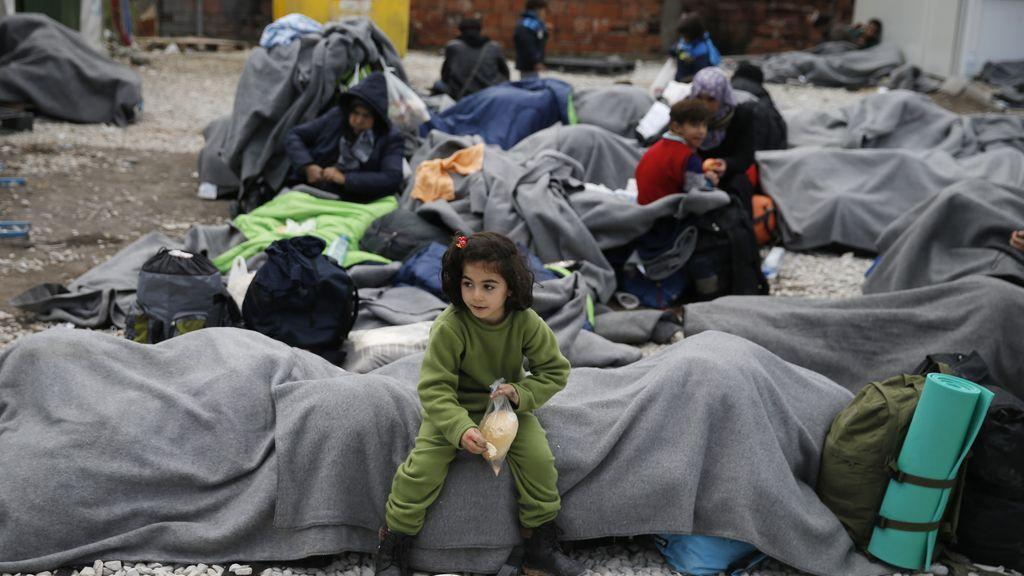 El frío no frena la llegada de refugiados a Europa