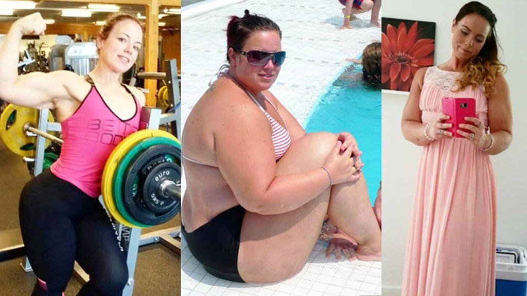 Una mujer obesa pierde 80 kilos y acaba casándose con su entrenador personal