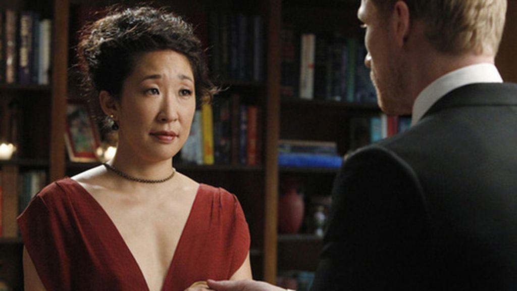 Cristina se casa de rojo con Owen