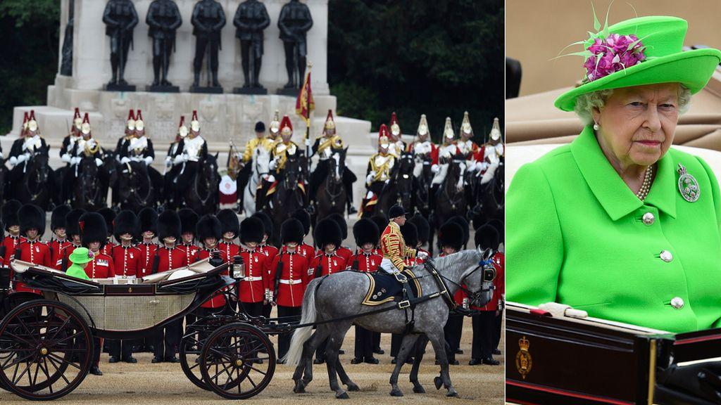 90 cumpleaños Isabel II