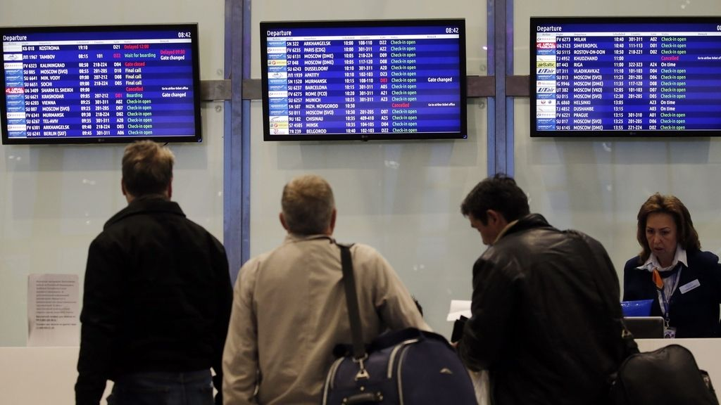 Rusia suspende vuelos con Egipto