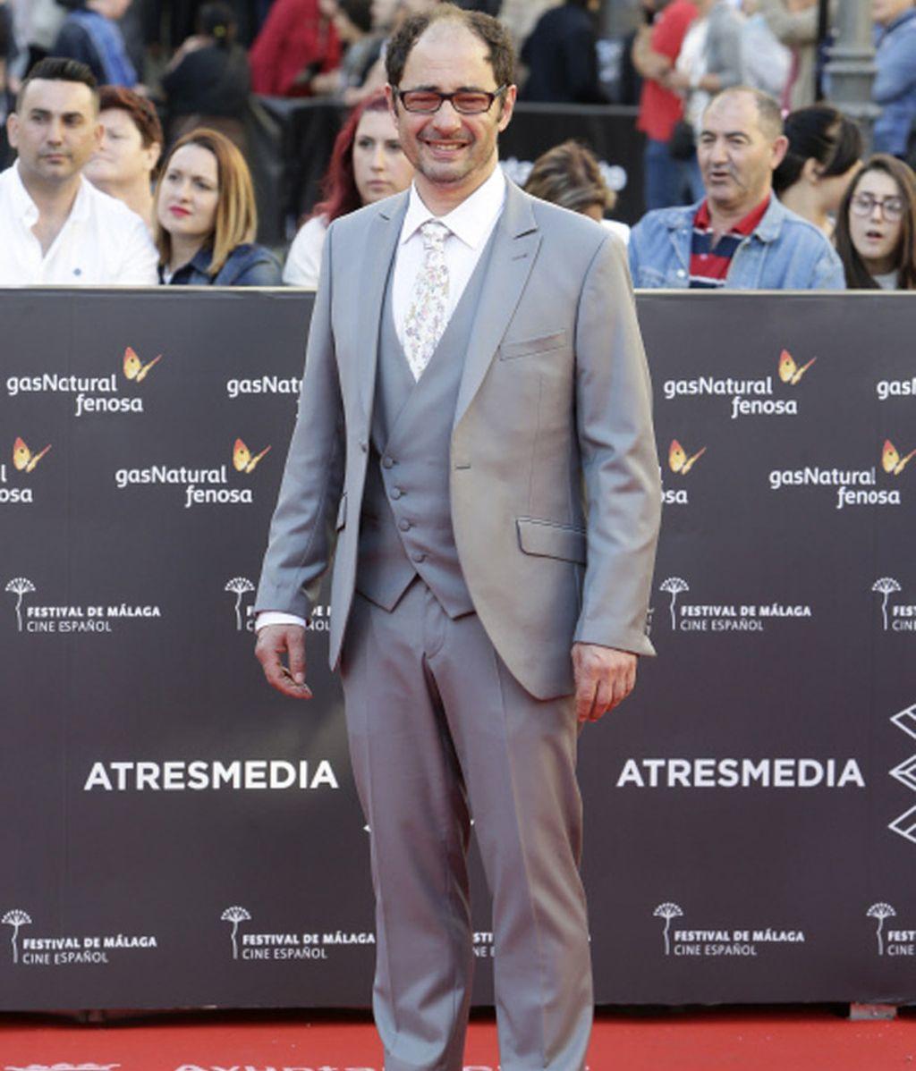 Jordi Sánchez en la inauguración de la 19 edición del Festival de Cine de Málaga