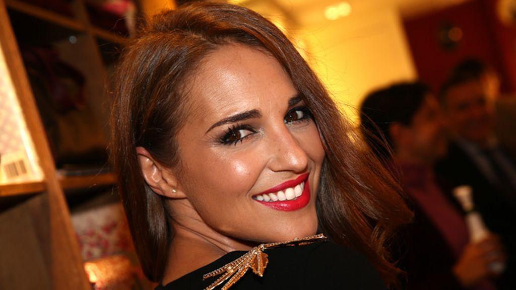 Paula Echevarría con cara de bloguera