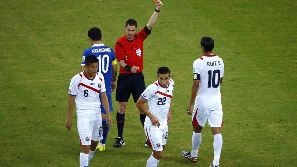 Duarte fue expulsado en la segunda mitad