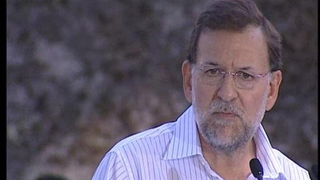 """Rajoy: """"Si fuera yo, iría a Rodiezmo"""""""