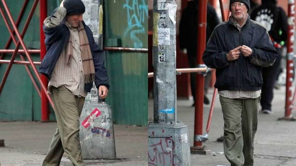 El actor Richard Gere en Nueva York