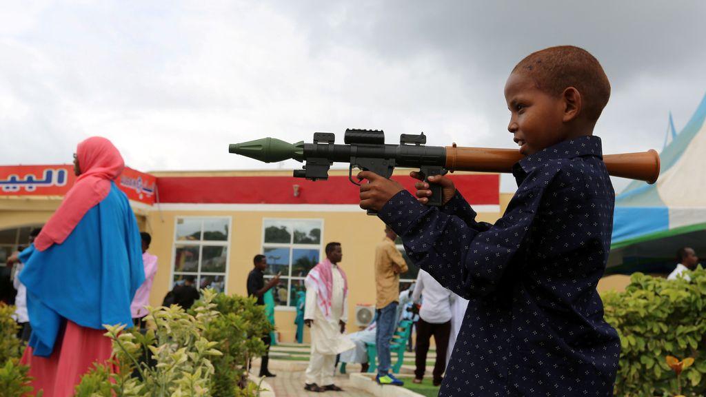 Jugar a la guerra en Somalia