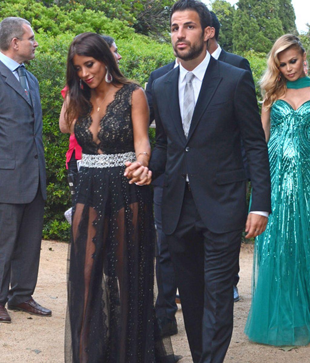 Cesc Fábregas con Daniella Semaan