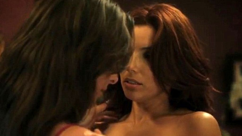 Eva Longoria, mujer desesperada y… ¡lesbiana!