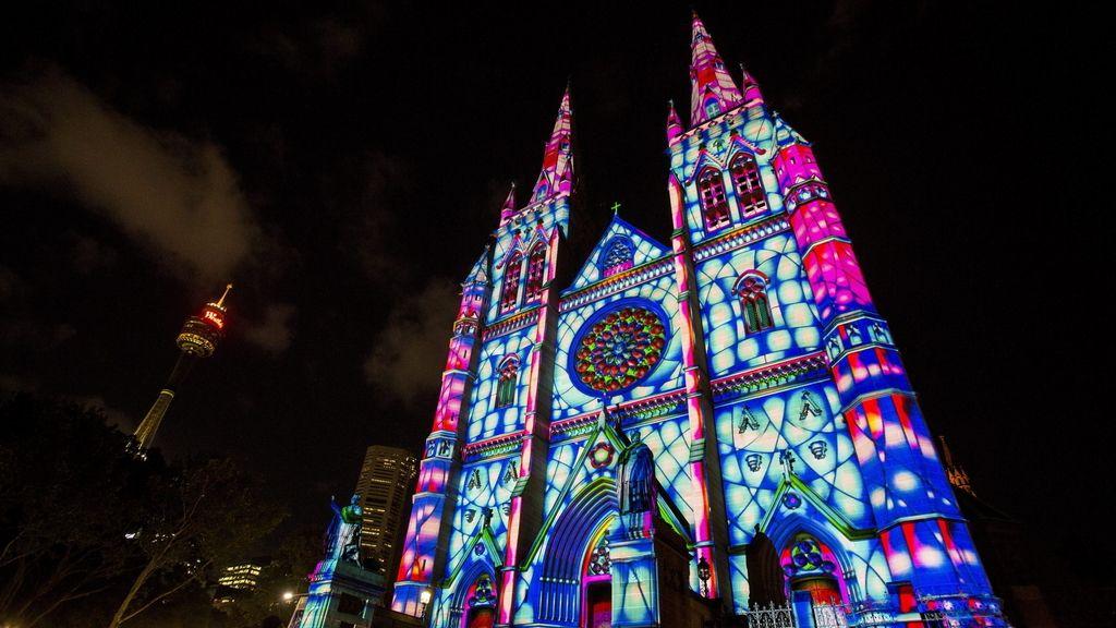 Catedral de Santa María, en Sídney (Australia)