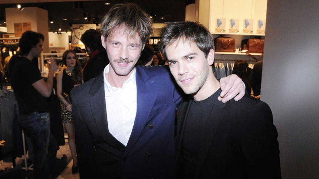 Los actores Eloy Azorín y Marc Clotet