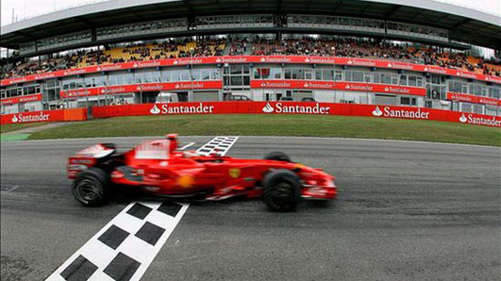 Raikkonen saldrá en sexta posición