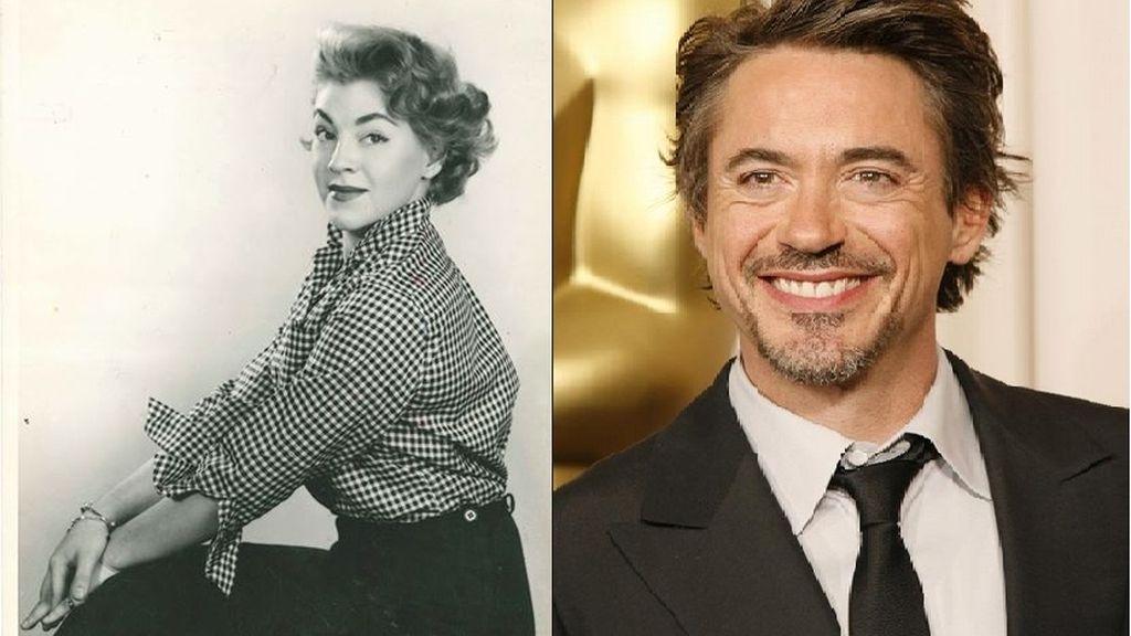 Robert Downey y su madre