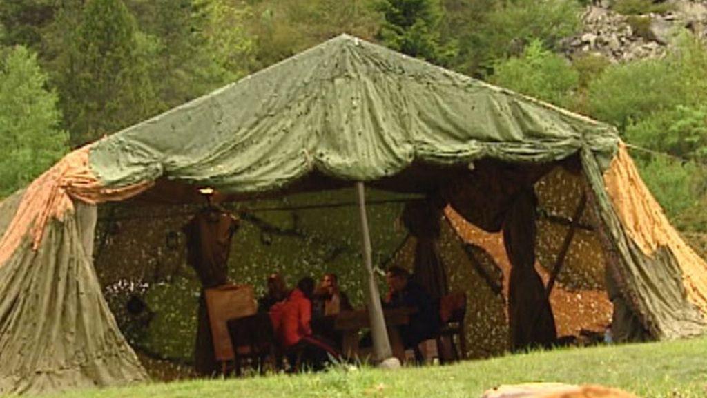 El cobertizo de El Campamento