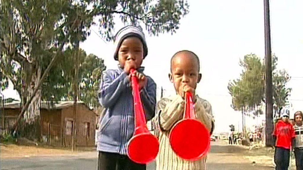 Las trompetas sudafricanas