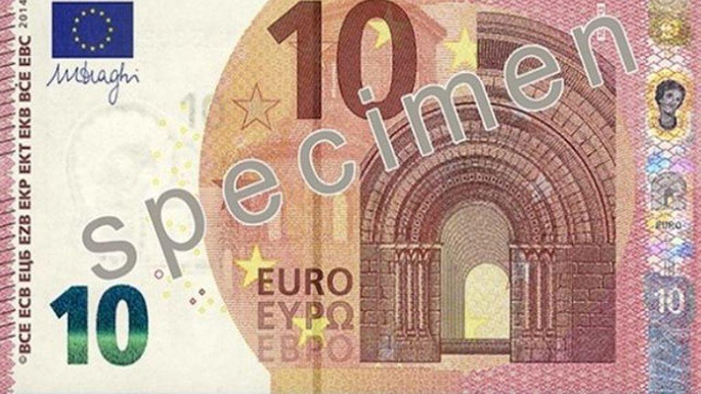 Nuevo billete de diez euros