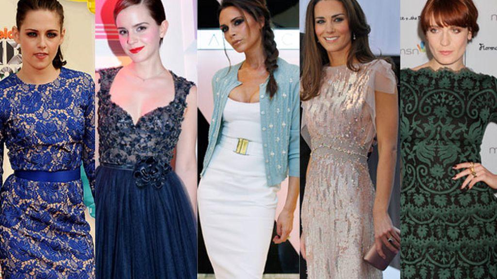 Las cinco famosas mejor vestidas según la revista 'Glamour'