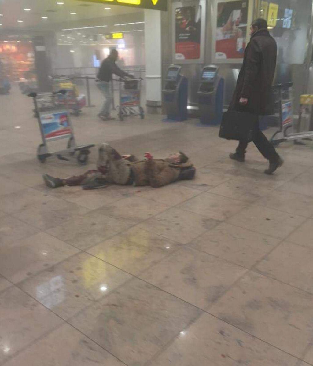 Heridos en las explosiones del aeropuerto de Bruselas