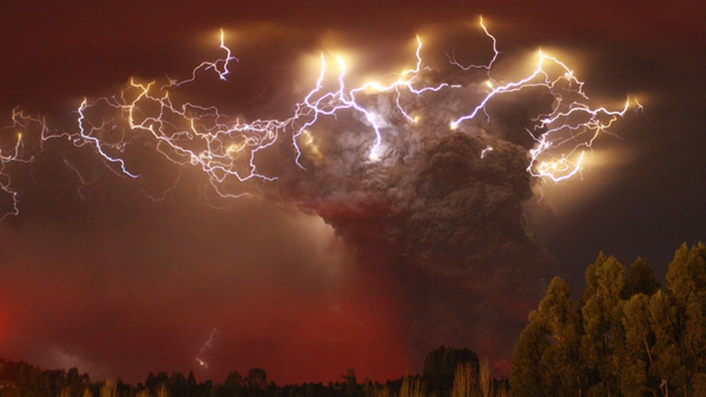 Tormenta eléctrica, rayos