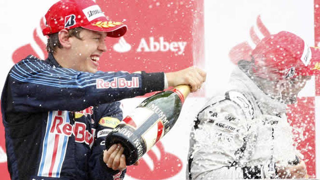Sebastian Vettel conquista Gran Bretaña