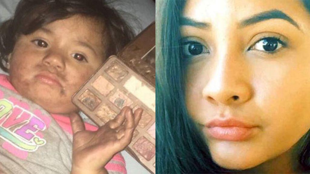 Regresó a casa y su sobrina la esperaba con una sorpresa con su maquillaje