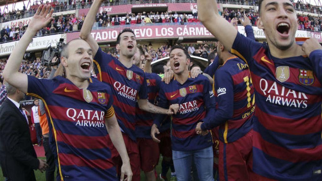 El Barça, campeón de Liga