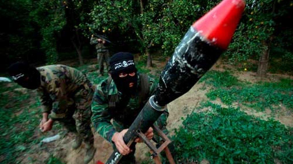 Ataques de brigadas palestinas sobre Israel