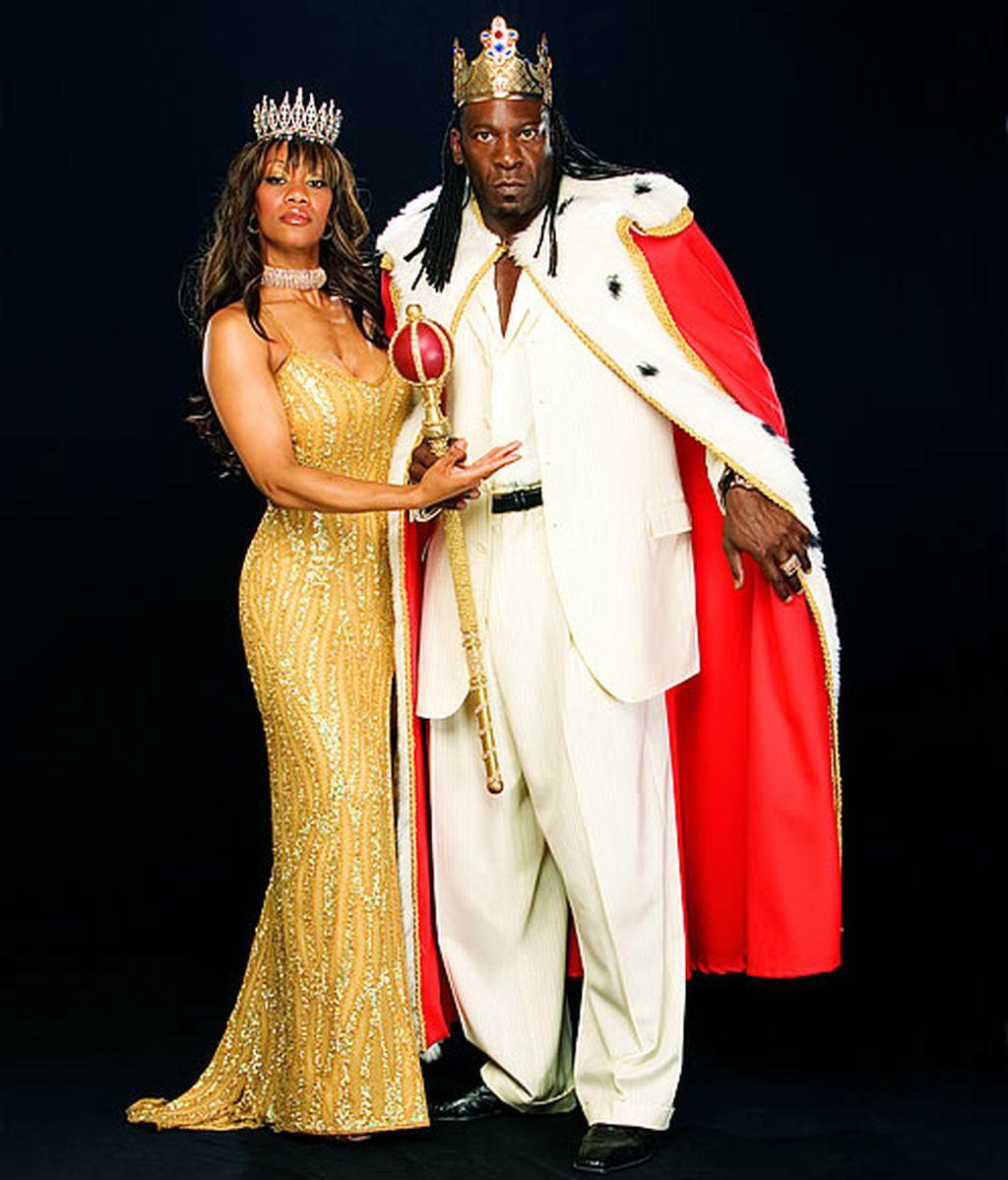 Rey Booker y su esposa