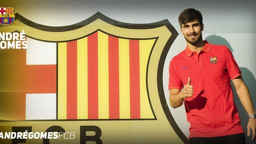 Andre Gomes,Barça