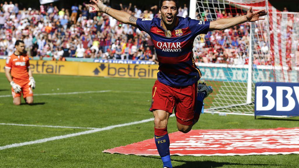 Barcelona campeón de Liga Luis Suárez