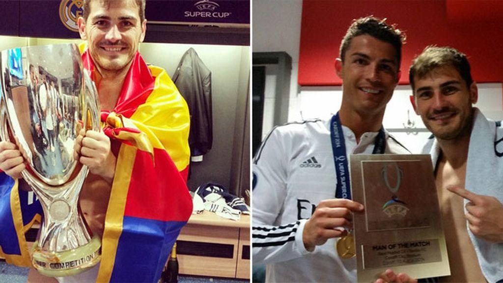 Casillas celebración Supercopa 1