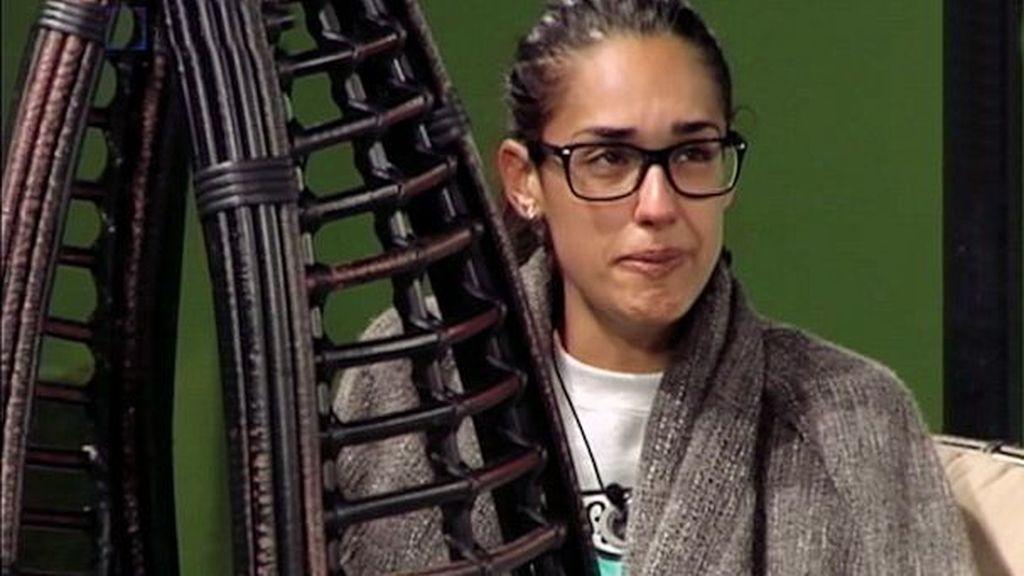 Lucía llora