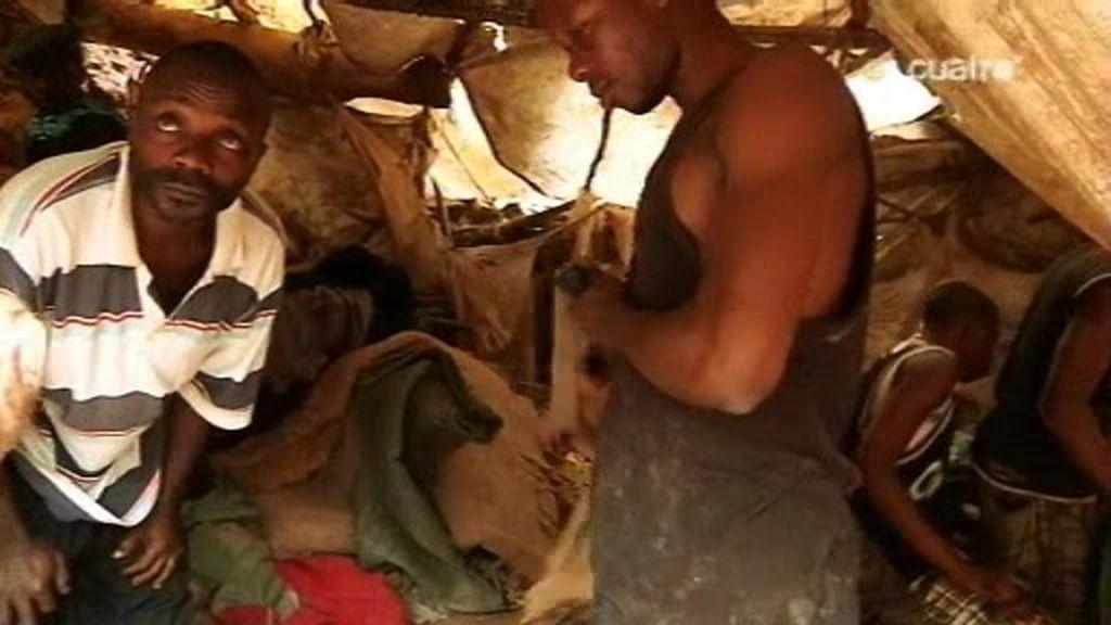 Congo, tierra violada. Fuerza humana bruta en las minas